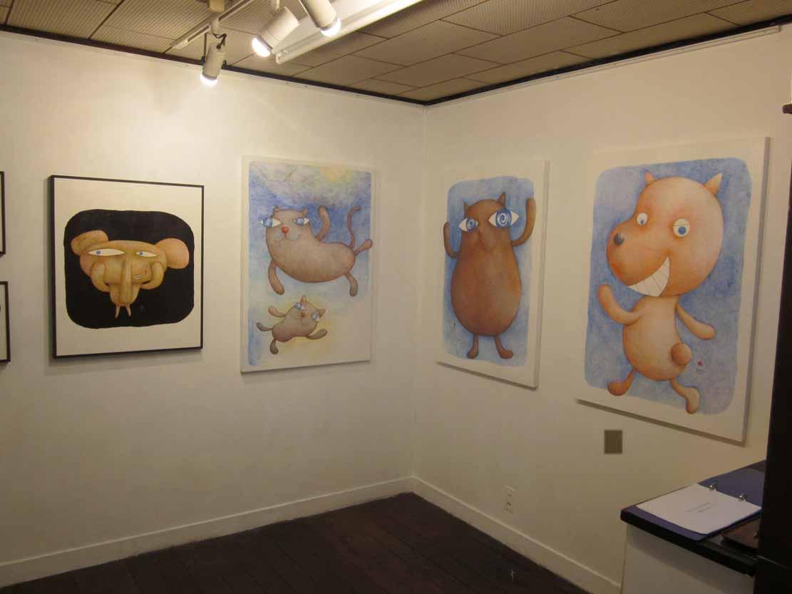 Animal Naked Exhibition 2014 at K.Art Studio